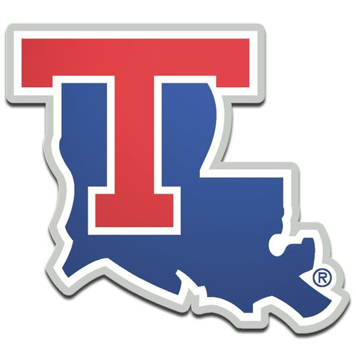 Stockdale Louisiana Tech University Laser-Cut Auto Emblem