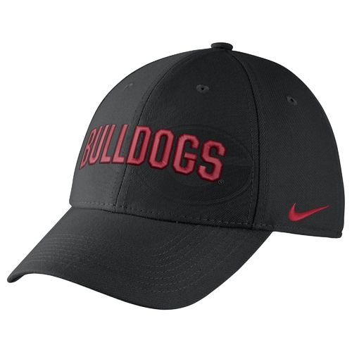 Nike™ Men's University of Georgia Classic Wordmark Swoosh Flex Cap