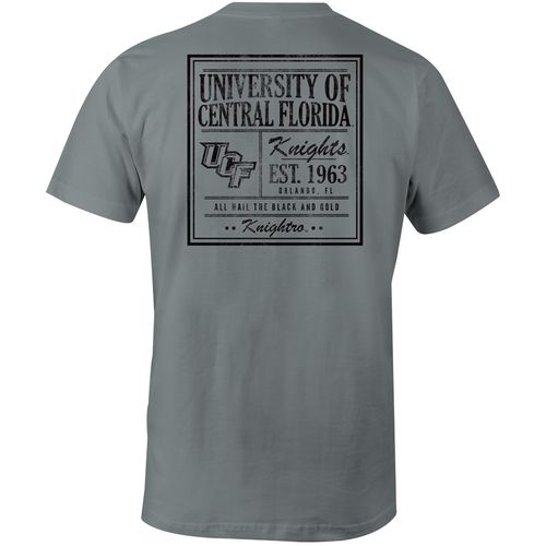 Image One Men's University of Central Florida Comfort Color Vintage Poster Short Sleeve T-shirt