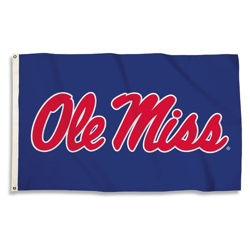 BSI University of Mississippi 3' x 5' Flag - view number 1