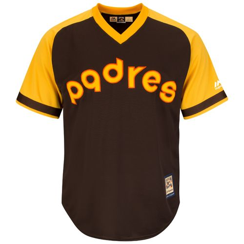 Majestic Men's San Diego Padres Ozzie Smith #1 Cool Base Cooperstown Jersey - view number 3