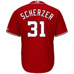 Majestic Men's Washington Nationals Max Scherzer #31 Cool Base Jersey - view number 1