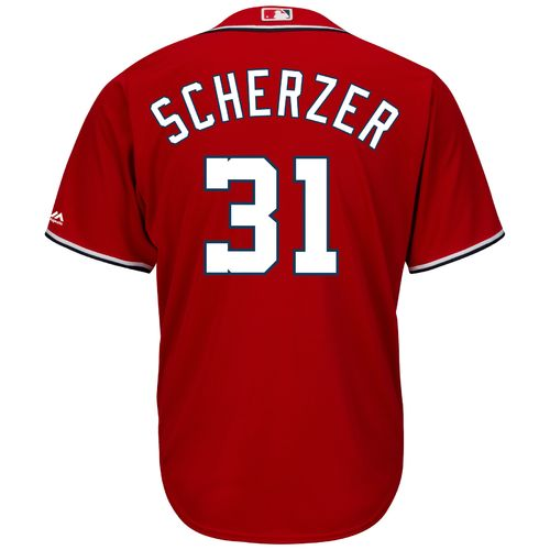 Majestic Men's Washington Nationals Max Scherzer #31 Cool Base Jersey