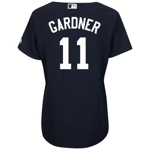 Majestic Women's New York Yankees Brett Gardner #11 Cool Base® Replica Jersey