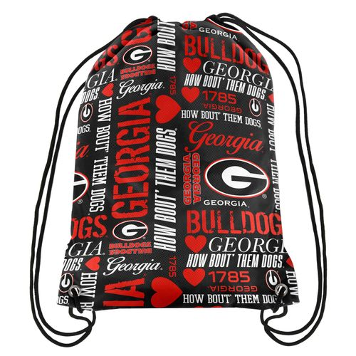 Forever Collectibles™ Women's University of Georgia Drawstring Backpack