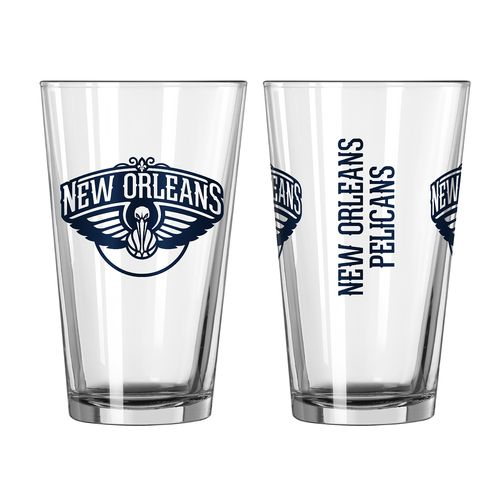 Boelter Brands New Orleans Pelicans Game Day 16 oz. Pint Glasses 2-Pack