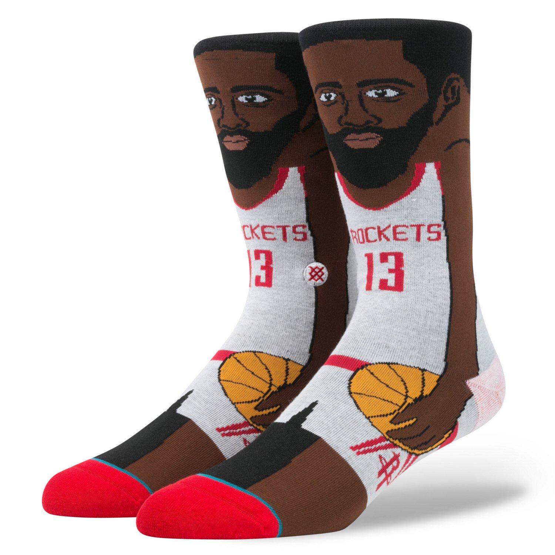Stance Men's Houston Rockets James Harden Player Socks