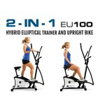 XTERRA EU 100 Hybrid Elliptical Upright Bike - view number 1