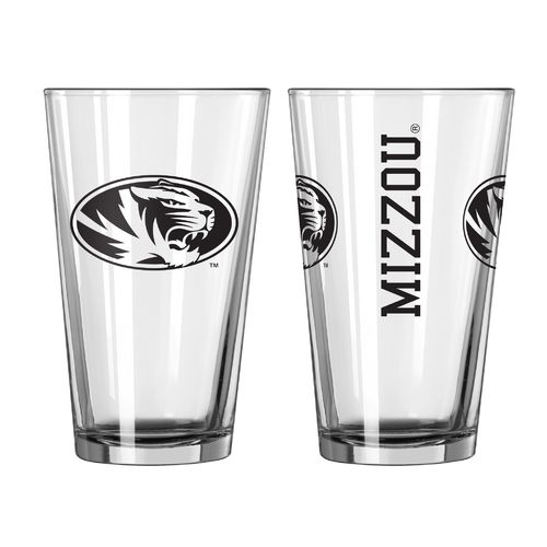 Boelter Brands University of Missouri Game Day 16 oz. Pint Glasses 2-Pack