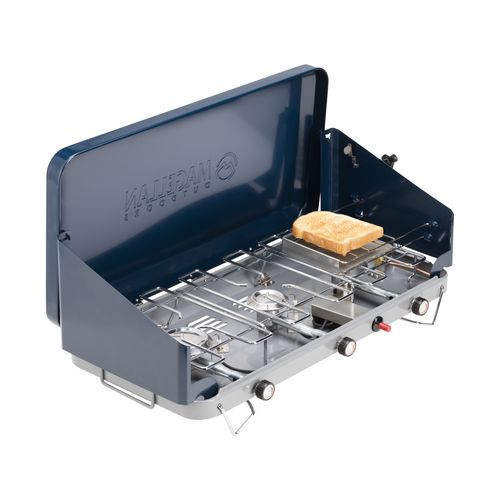Display product reviews for Magellan Outdoors 3-Burner Propane Stove with Toaster Accessory