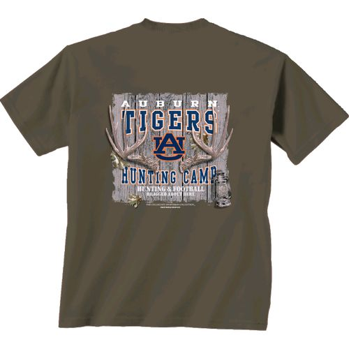 New World Graphics Men's Auburn University Hunting Camp T-shirt