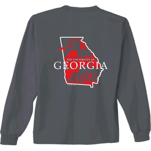 New World Graphics Men's University of Georgia State Sportsman Long Sleeve T-shirt