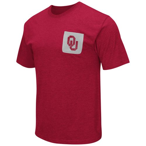 Colosseum Athletics™ Men's University of Oklahoma Banya Pocket T-shirt - view number 1