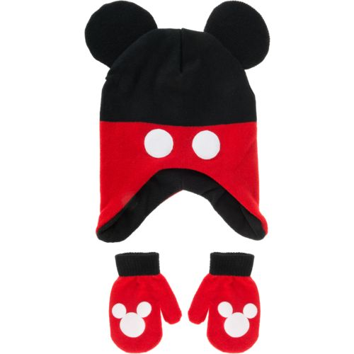 ABG Accessories Boys' Mickey Clubhouse Hat and Mitten Set