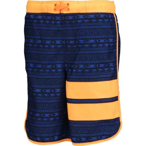O'Rageous® Boys' Geo Aztec Scalloped E-boardshort