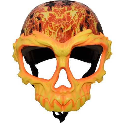 Krash Boys' Inferno Skull Mask Helmet - view number 4
