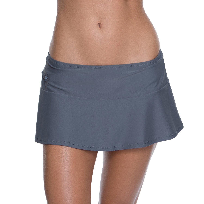 Display product reviews for BCG Women's Malibu Solids Skirtini Swim Bottom