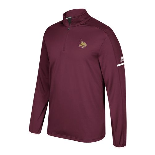 adidas Men's Texas State University Sideline 1/4 Zip Pullover