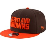 New Era Men's Cleveland Browns 9FIFTY Baycik Snapback Cap - view number 1