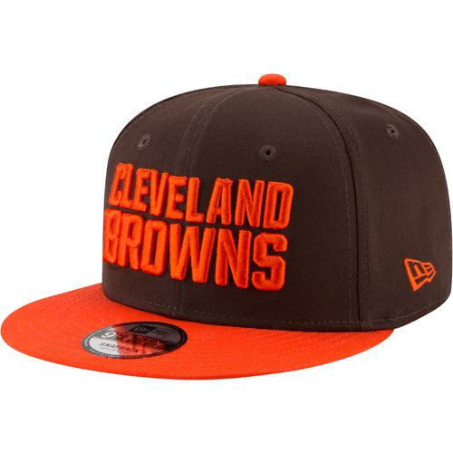New Era Men's Cleveland Browns 9FIFTY Baycik Snapback Cap