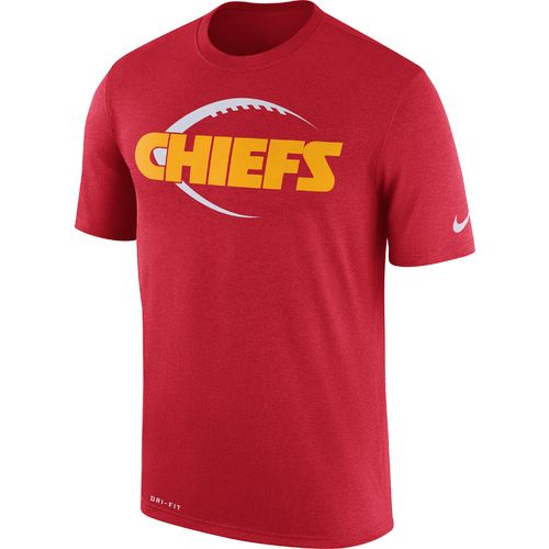Nike™ Men's Kansas City Chiefs Dry Legend Icon Football '17 T-shirt - view number 1