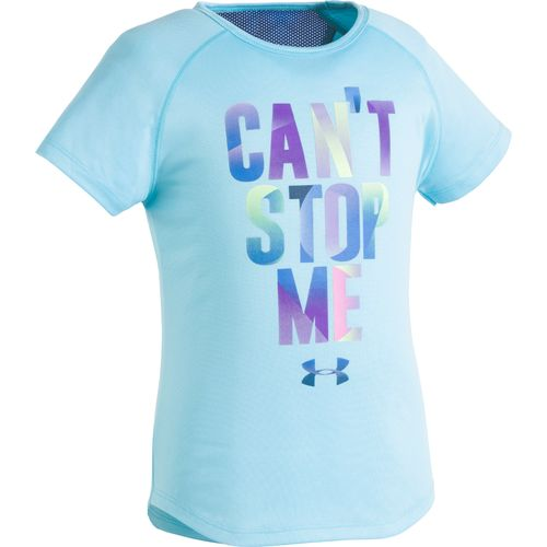 Under Armour Girls' Can't Stop Me T-shirt - view number 1
