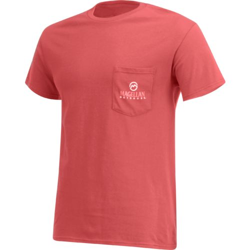 Magellan Outdoors Men's Mosaic Redfish Pocket T-shirt - view number 3