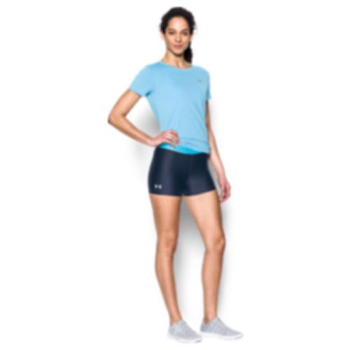 Under Armour Women's HeatGear Shine Waistband Short - view number 5