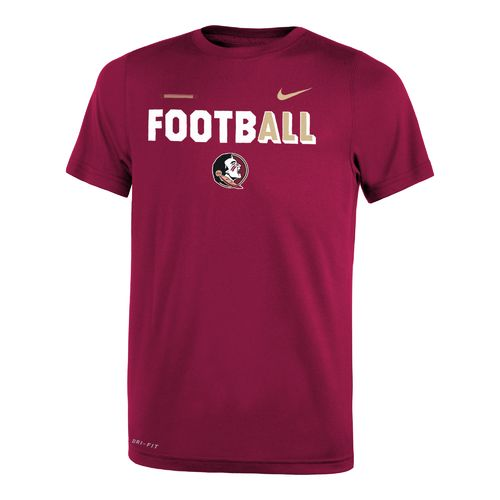 Nike™ Boys' Florida State University Legend Football T-shirt