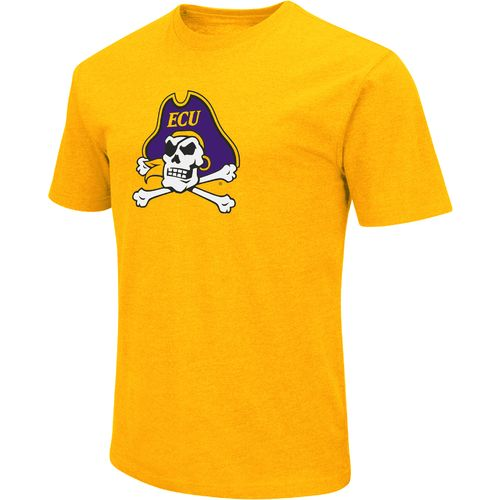 Colosseum Athletics Men's East Carolina University Logo Short Sleeve T-shirt