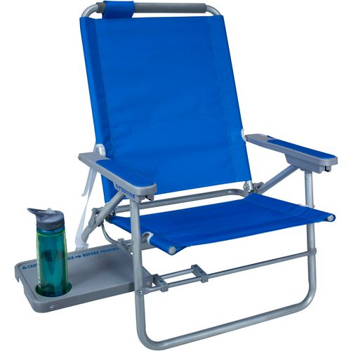 GCI Outdoor Waterside Big Surf Chair with Slide-Out Table