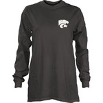 Three Squared Juniors' Kansas State University Tower Long Sleeve T-shirt - view number 2