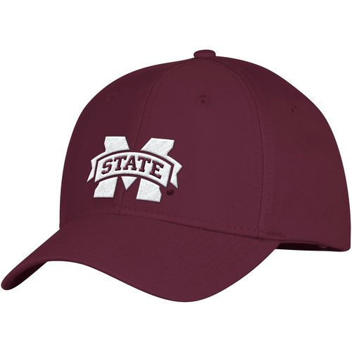 adidas Men's Mississippi State University Basic Structured Adjustable Cap - view number 1