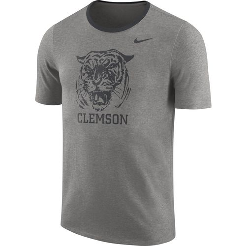 Nike Men's Clemson University Heavyweight Elevated Essentials Short Sleeve T-shirt
