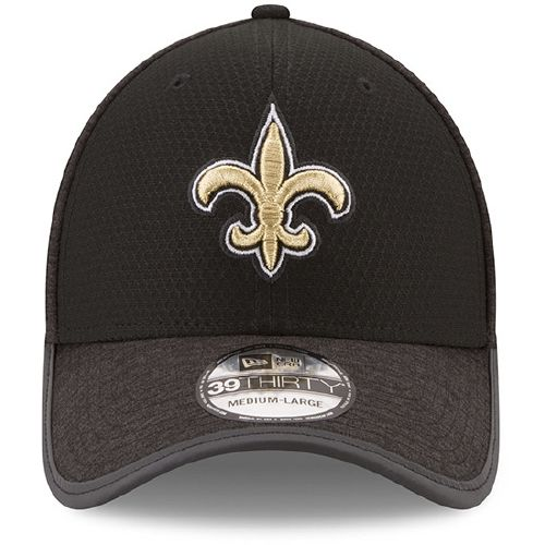 New Era Men's New Orleans Saints 39THIRTY Onfield Team Training Cap - view number 6