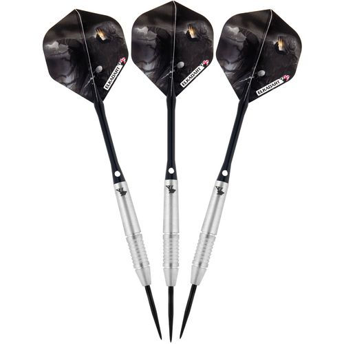 Elkadart Wizard 21 g Tungsten Steel-Tip Darts 3-Pack