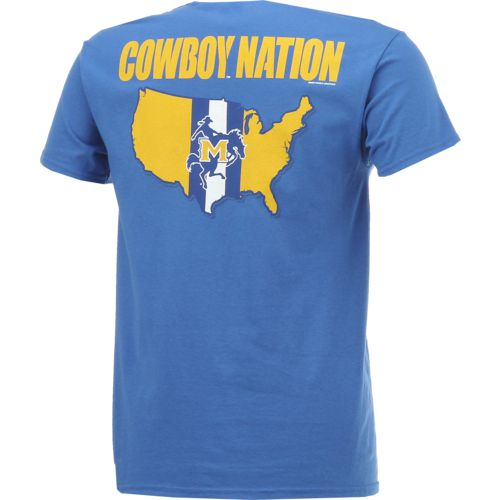 New World Graphics Men's McNeese State University Stripe Nation T-shirt - view number 2