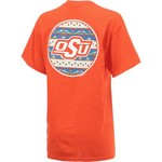 New World Graphics Women's Oklahoma State University Logo Aztec T-shirt - view number 2