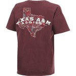 New World Graphics Women's Texas A&M University Comfort Color Puff Arch T-shirt - view number 2