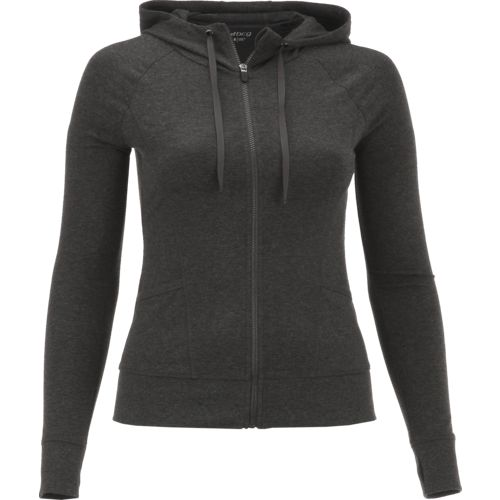 Display product reviews for BCG Women's Heather Full Zip Hoodie