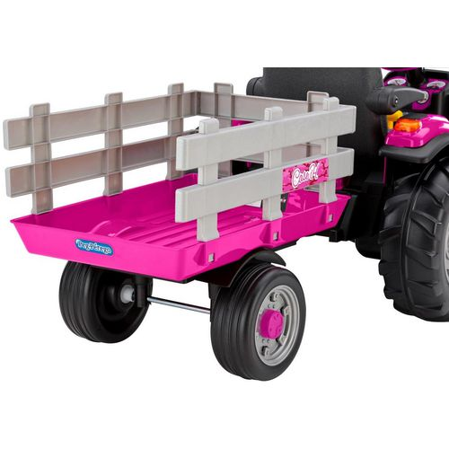 Peg Perego Girls' Case IH Magnum 12 V Ride-On Tractor and Trailer - view number 2