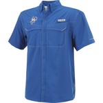Columbia Sportswear Men's McNeese State University Low Drag Offshore Short Sleeve Shirt - view number 3