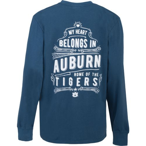 Three Squared Juniors' Auburn University Tower Long Sleeve T-shirt