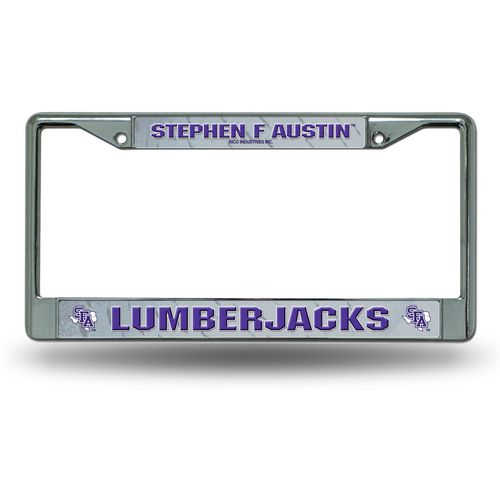 NCAA Stephen F. Austin State University Chrome License Plate Frame