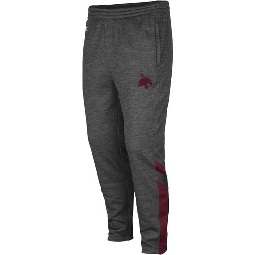 Colosseum Athletics Men's Texas State University Software Fleece Pant