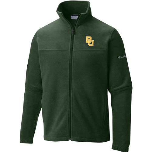 Columbia Sportswear Men's Baylor University Flanker Full Zip Fleece
