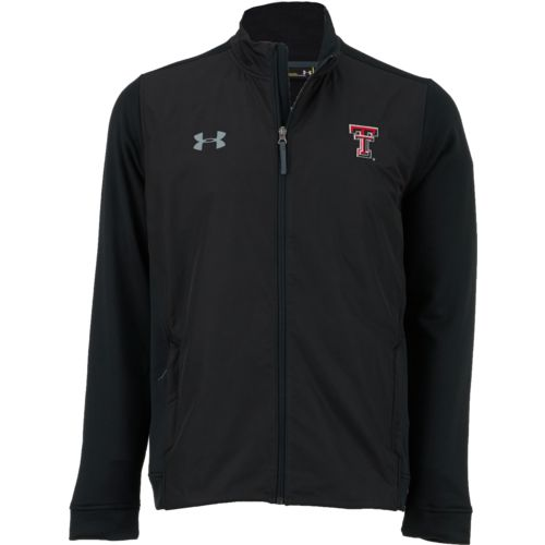 Under Armour Men's Texas Tech University Terry Full Zip Jacket