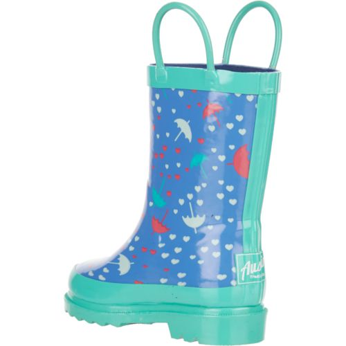 Austin Trading Co. Toddler Girls' Rubber Umbrella Boots - view number 3