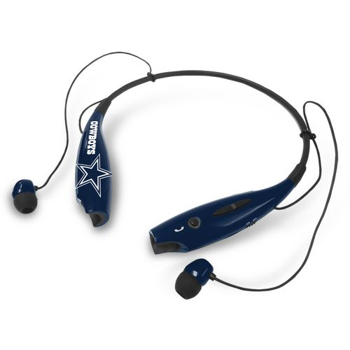 Mizco Dallas Cowboys Wireless Bluetooth Neckband Earbuds