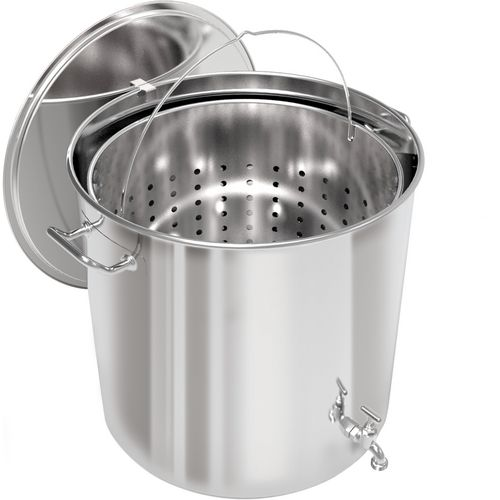 Breauxs 100 qt Stainless-Steel Pot - view number 2
